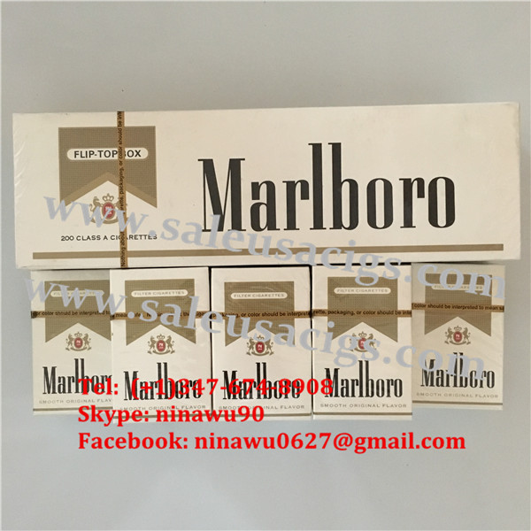 Discount Authentic Marlboro Gold Regular 6 Cartons