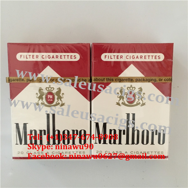 Designer Marlboro Red Regular 50 Cartons